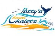 Patty's Beach Chalets - Logo design