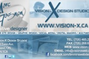 Vision-X Business Card