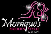 Monique's Modern Styles - Logo Design